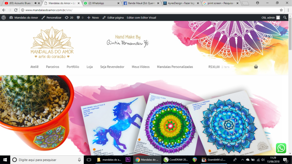 Mandalas do Amor – Loja Virtual