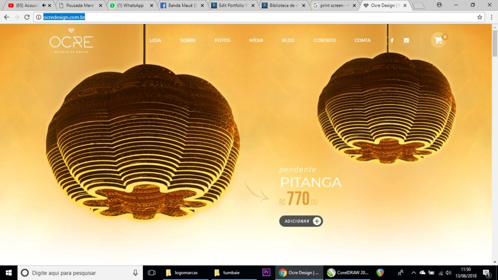 Ocre Design – Loja Virtual